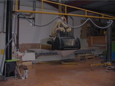 Centre d'usinage CNC